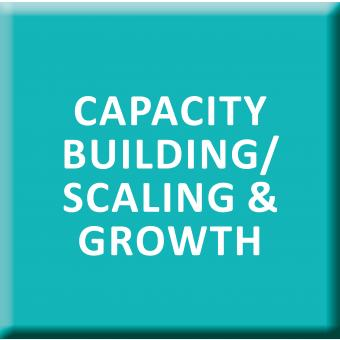 Capacity Building/Scaling & Growth